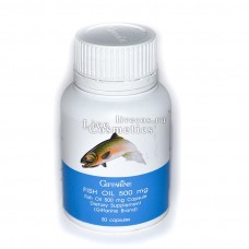 Капсулы для понижение уровня холестерина Fish oil 500 mg